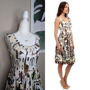 KATE SPADE Havana Landscape City Career Dress